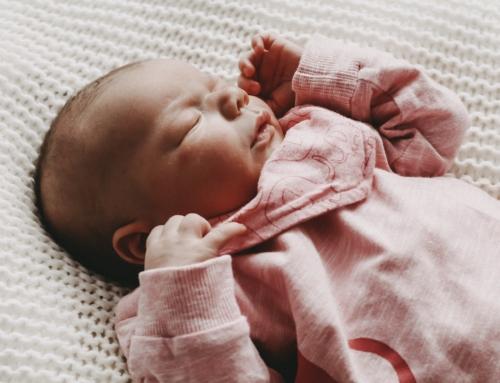 Neugeborenen Shooting im Krankenhaus