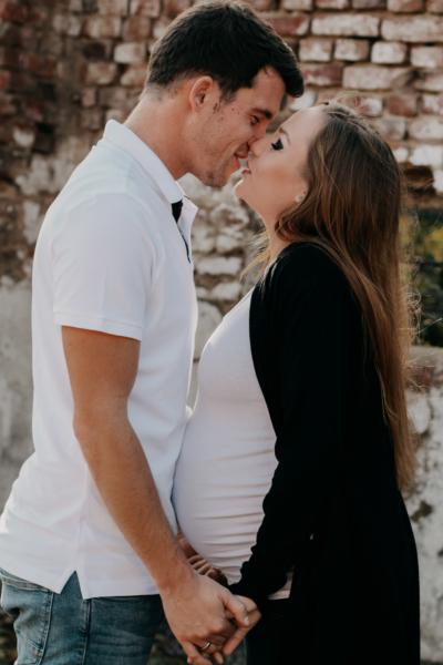 Babybauch Fotos mit Partner Erkelenz